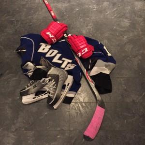 Jentehockey utstyr