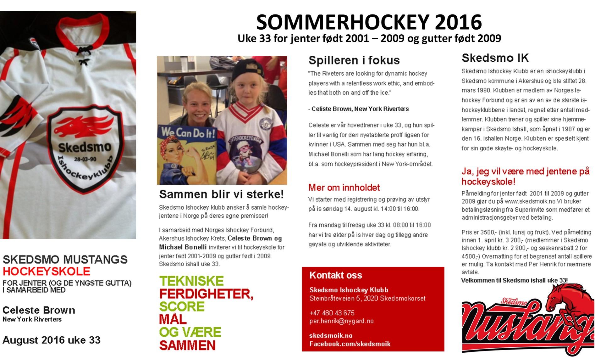 160206 Sommerhockey uke 33 jenter web